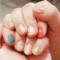 ♡ネイルチェンジ♡今回はシェル&ホロネイルに爪が宝石みたい♡
